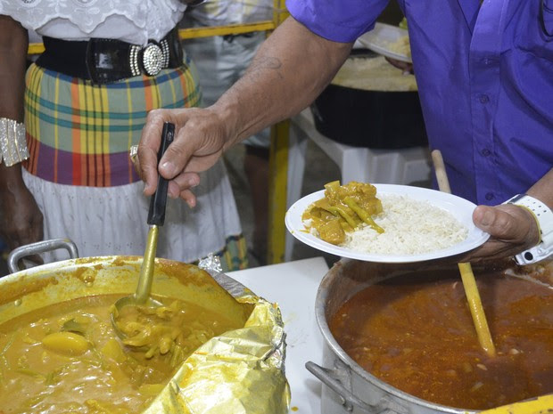 Colombo de porc foi o prato mais pedido pelos amapaenses (Foto: Gabriel Dias/G1)