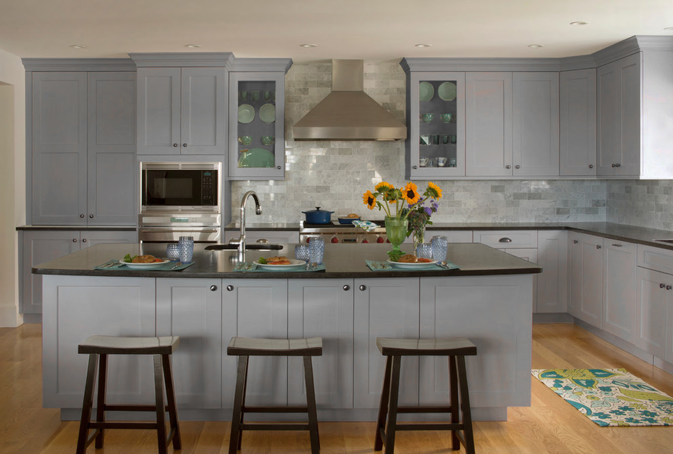 Grey Shaker - Ready To Assemble - Kitchen Cabinets