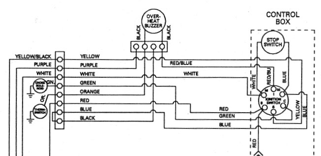 Mercury Outboard Ignition Wiring Diagram