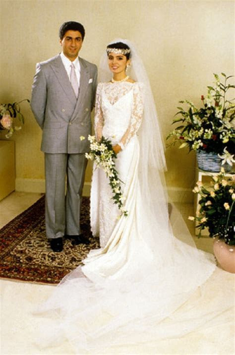 Wedding of prince Reza II Pahlavi of Iran with Yasmine