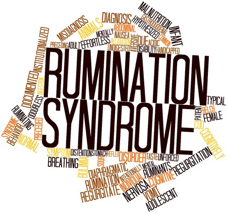 Abstract word cloud for Rumination syndrome with related tags and terms Stock Photo - 16629213