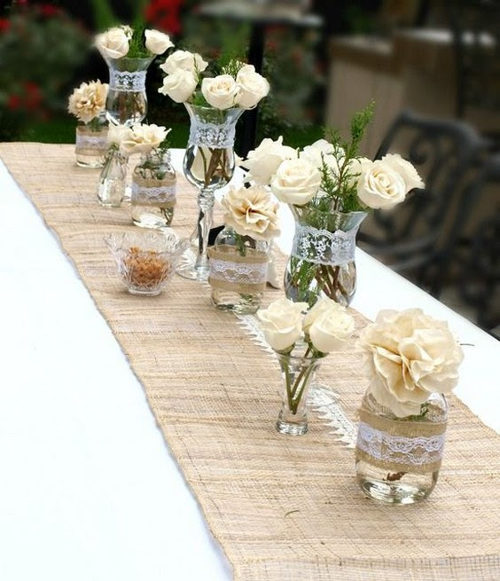 Mason Jar Wedding Centerpieces Beloved Blog