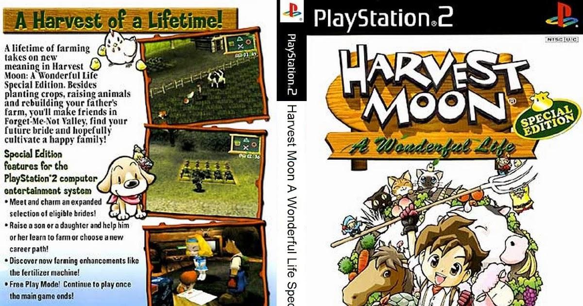 Tips dan trik lengkap bermain Harvest Moon: A Wonderful Life - Bejotech