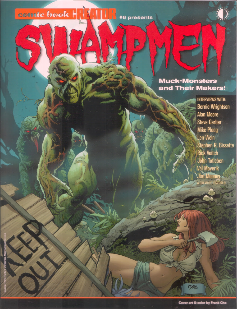 Comic Book Creator's SWAMP MEN