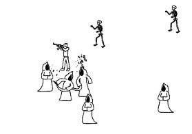 çöp Adam Zebanilere Karşı Oyunu Oyna Savaş Oyunları