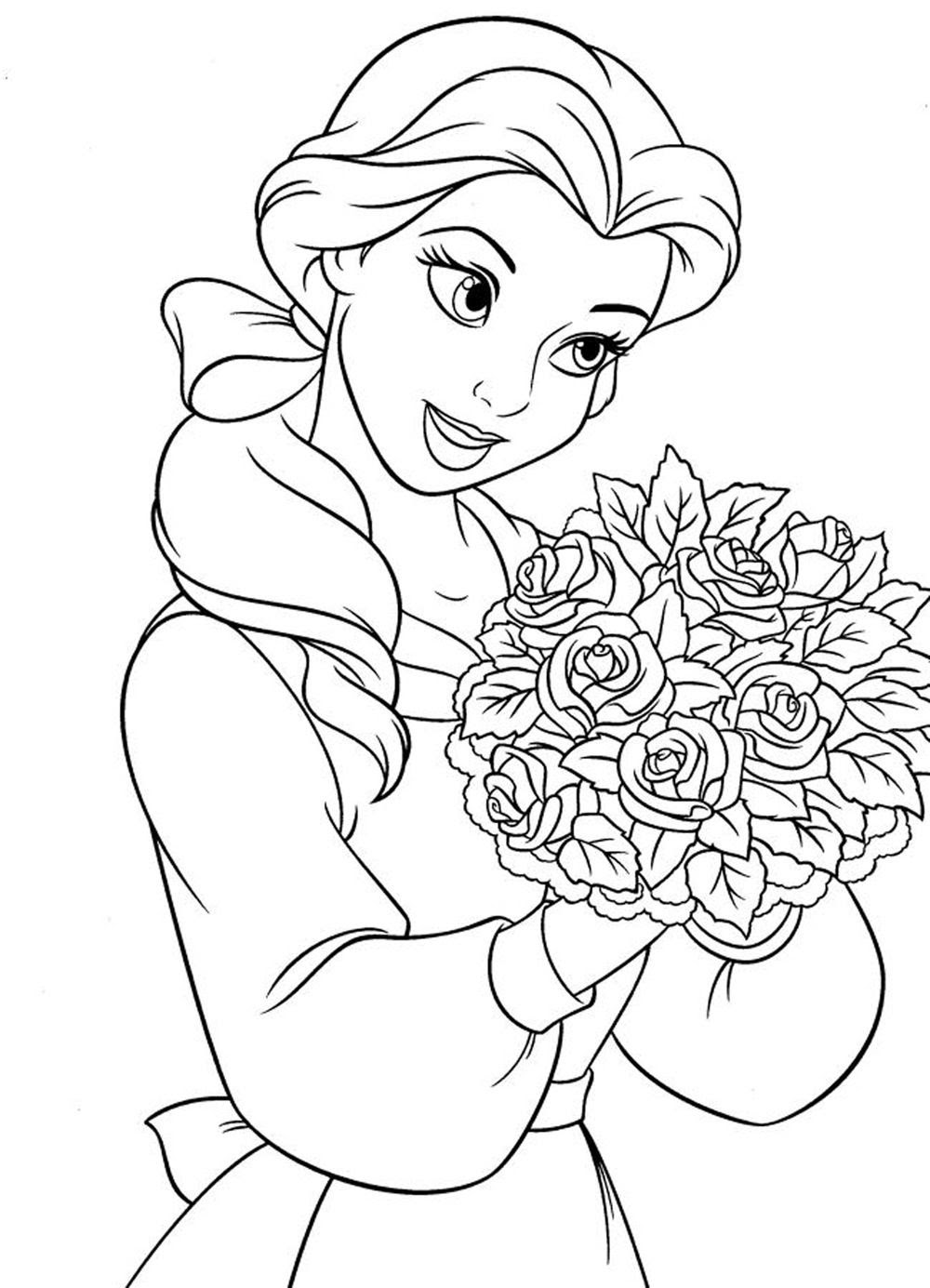Detailed Coloring Pages For Girls at GetColorings.com ...