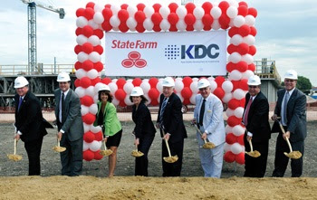 State Farm Groundbreaking
