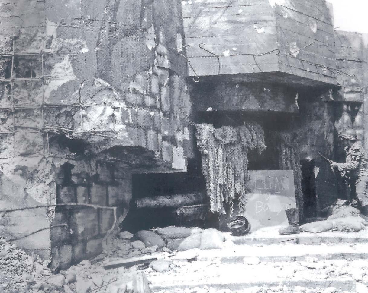 Damaged Bunker