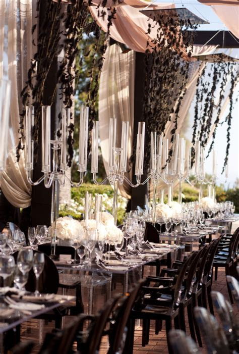 Sophisticated Wedding Reception Ideas   MODwedding