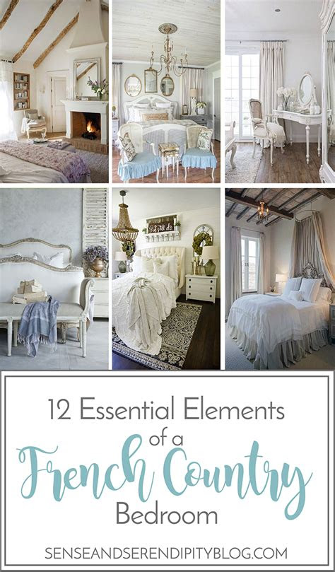 essential elements   french country bedroom sense