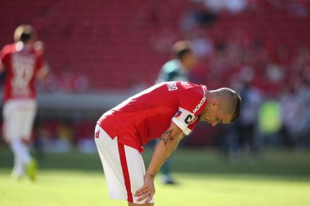 D'Alessandro explica o choro após gol de Paulão na vitória do Inter Diego Vara/Agencia RBS