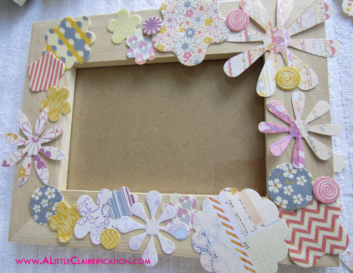 Mothers Day Flower Frame Gift Fox Hollow Cottage