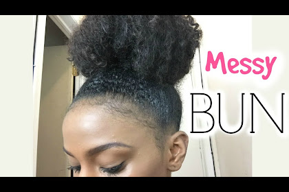 High Messy Buns For Short Hair