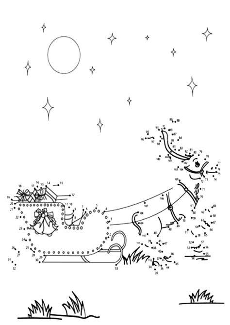 ausmalbilder weihnachten malen nach zahlen  kostenlose