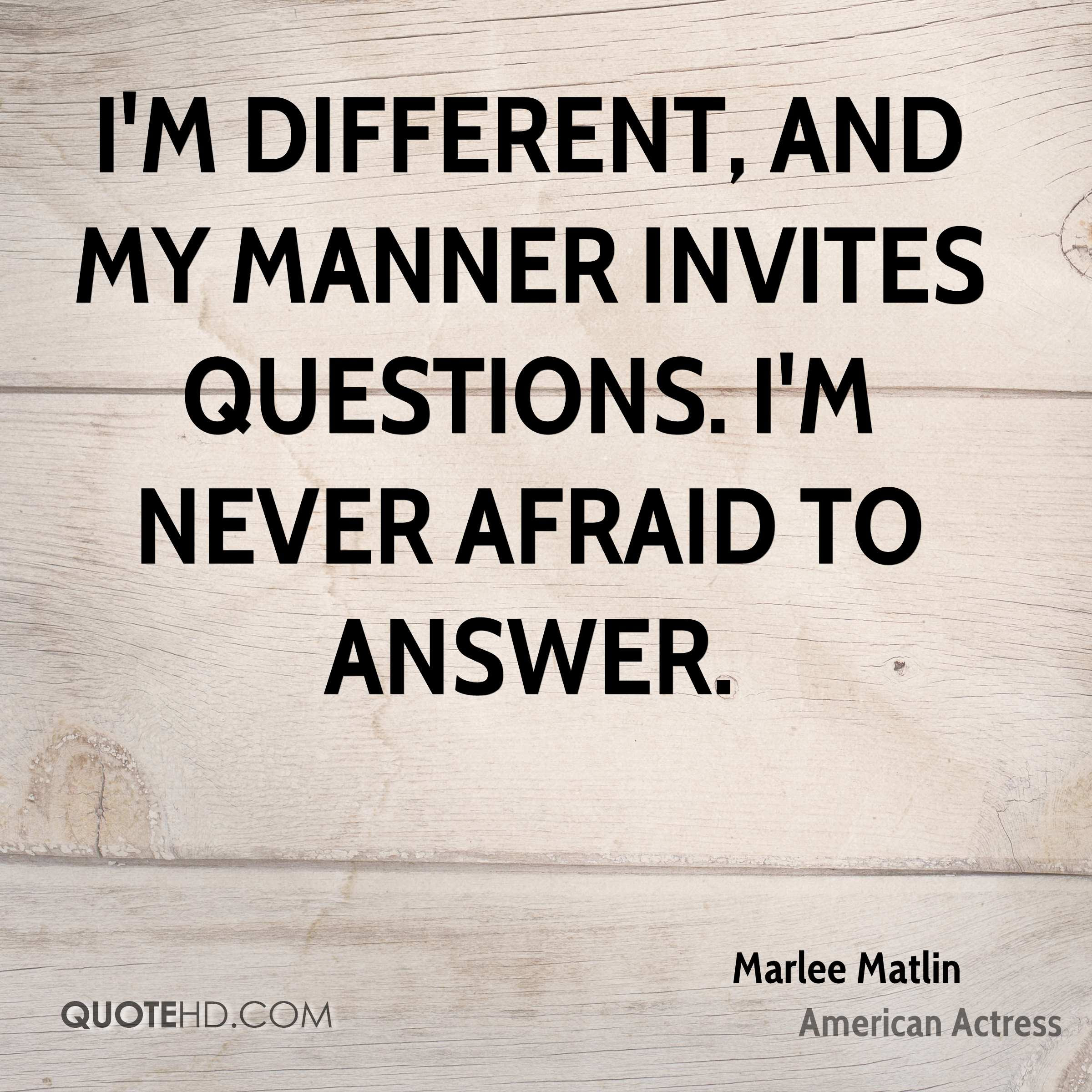 Marlee Matlin Quotes Quotehd