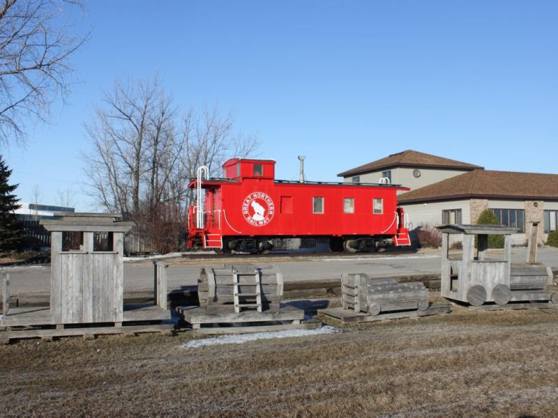R&R Contracting Caboose