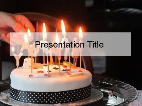 Birthday Cake PowerPoint Template