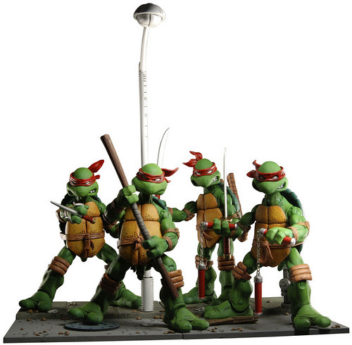 NECA TMNT //  NECA Reveals Details on NYCC Exclusive .. //  (( How to get yours..))  [[ via NECA ONLINE ]]
