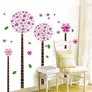 Amazon.com - Hunnt® Dandelion Flower Tree Removable Quote Vinyl ...