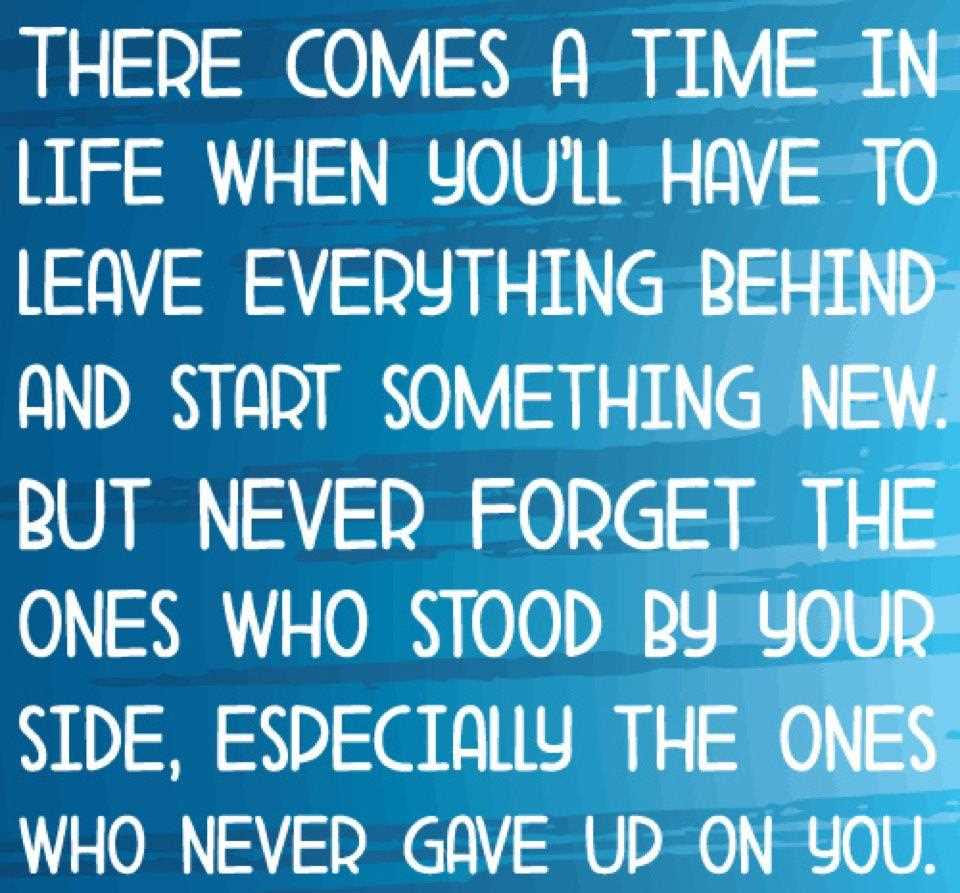 Quotes About Leaving It Behind 69 Quotes