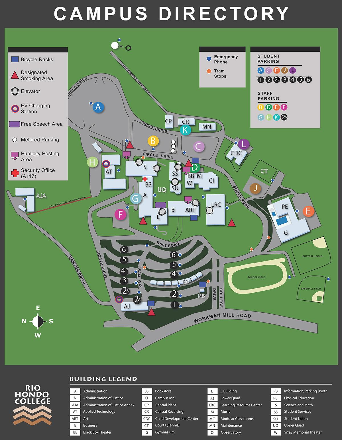 Santa Fe College Campus Map Santa Fe Community College Campus Map   Time Zones Map