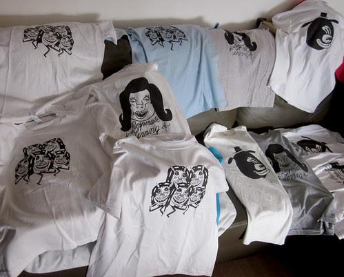new screen printed shirts