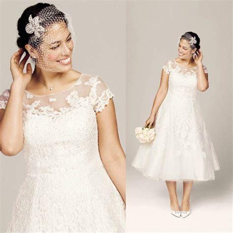 Best Wedding Dresses For Short Plus Size Brides