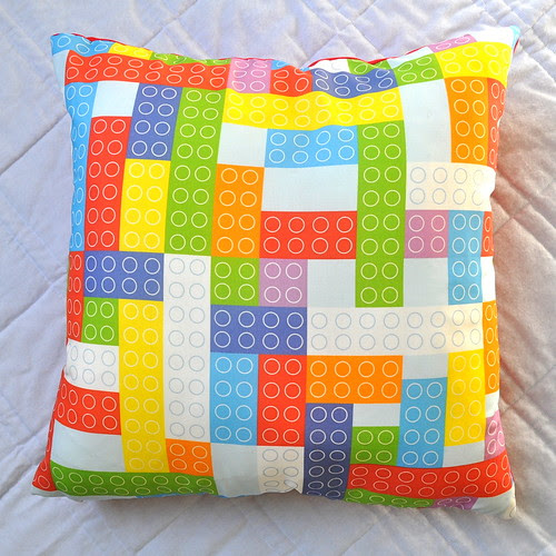 bricks cushion