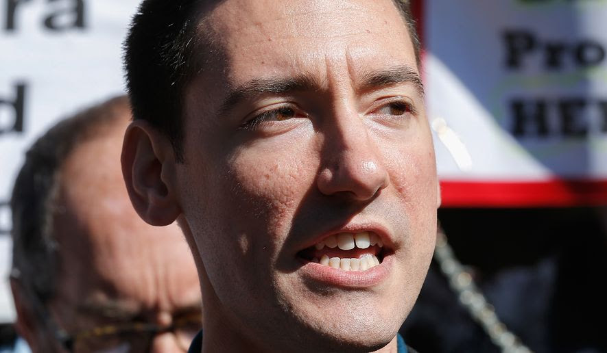 David Daleiden heads the Center for Medical Progress' undercover investigation. (Associated Press) ** FILE **