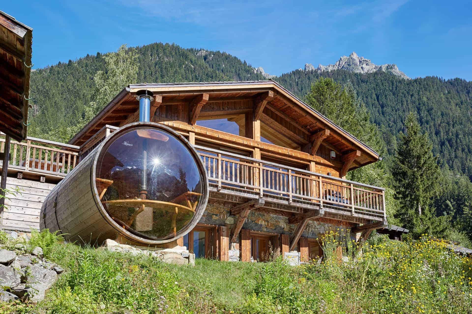 Eco Lodge Ski Chalets Chamonix  Argentiere  Marmotte