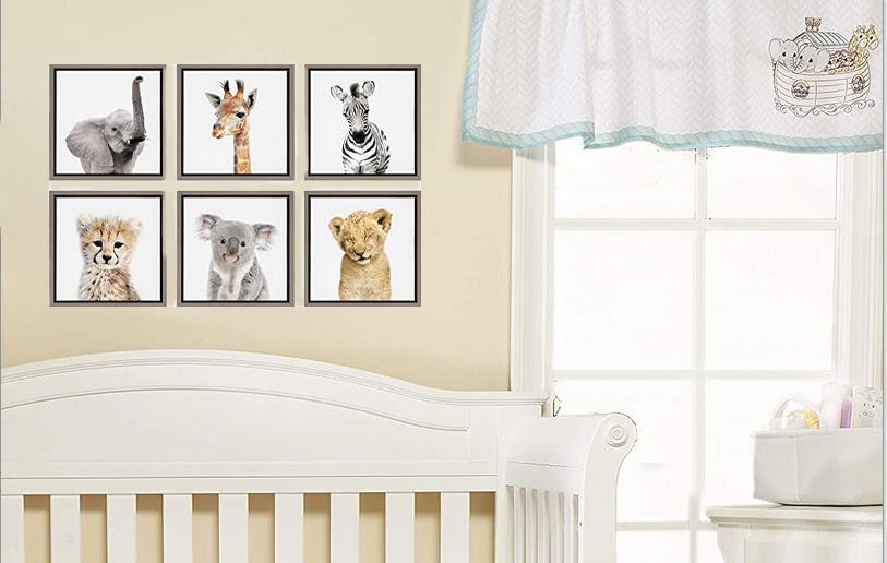 Baby Noahs Ark Nursery Theme Bedding and Decor Ideas