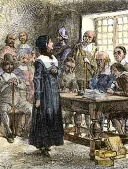 Puritan women: Anne Hutchinson on Trial