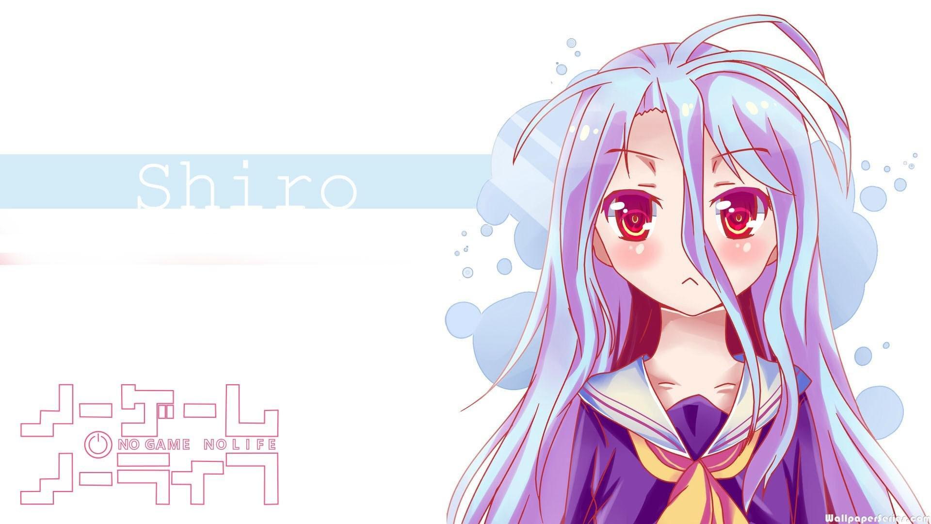 Hd Cute Girl Shiro No Game No Life Wallpaper Download Free