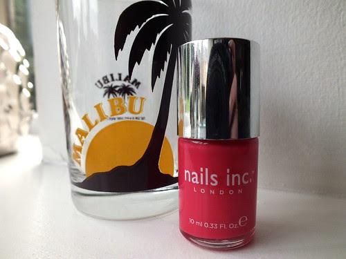Malibu, Nails Inc, Mali-Woo-Woo
