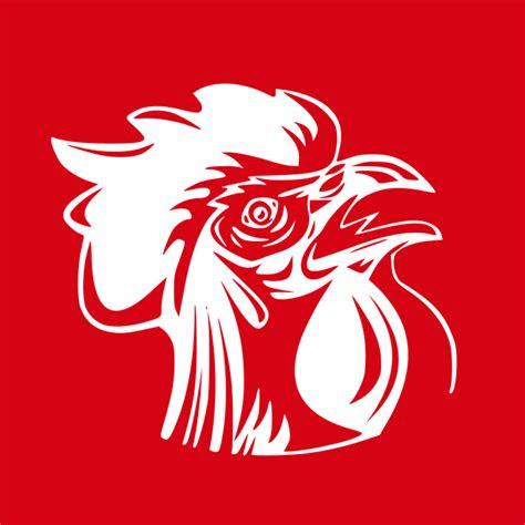 gambar animasi ayam jago keren