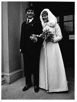 1971 Wedding Michael Williams and Judi Dench. Get inspired