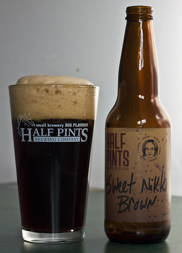 Review: Half Pints' Sweet Nikki Brown by Cody La Bière