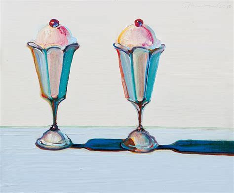 Paintings by Wayne Thiebaud   hellochelsea