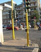I nuovi semafori sonori installati a Roma