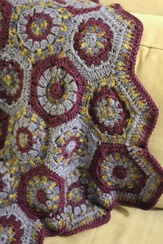 Cot blanket for Dormans by the procrastinatrix