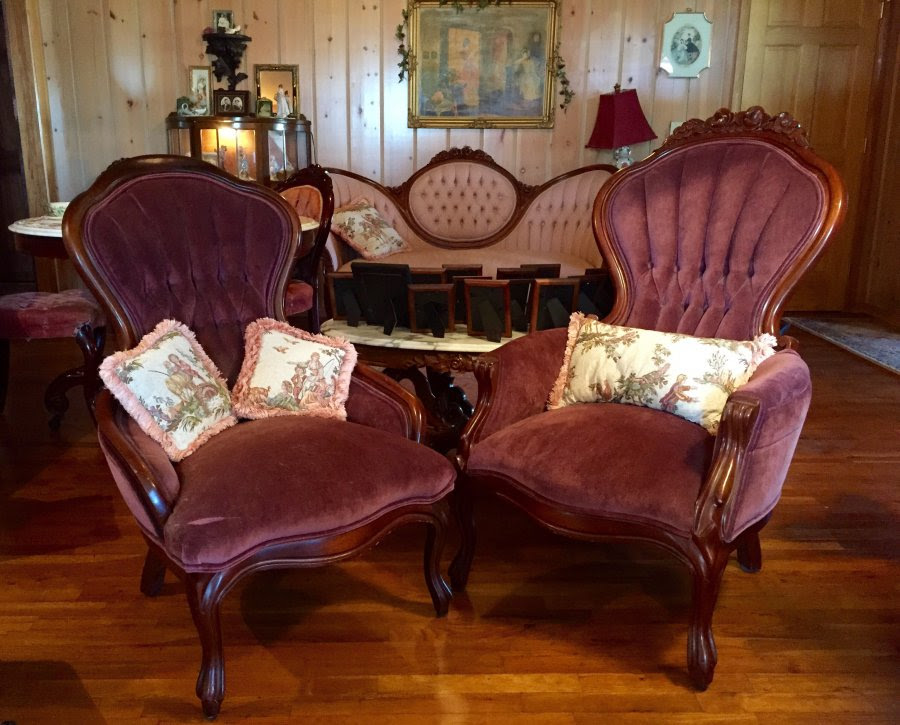 Antique Victorian Parlor/Living Room Furniture | Oklahoma ...