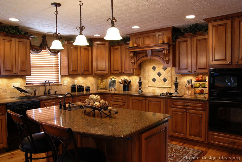 Tuscan Kitchen Design - Style