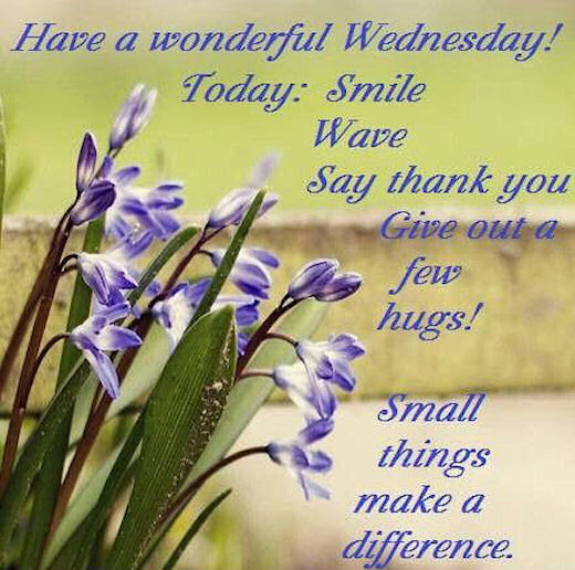 Smile And Have A Wonderful Wednesday Pictures Photos And Images