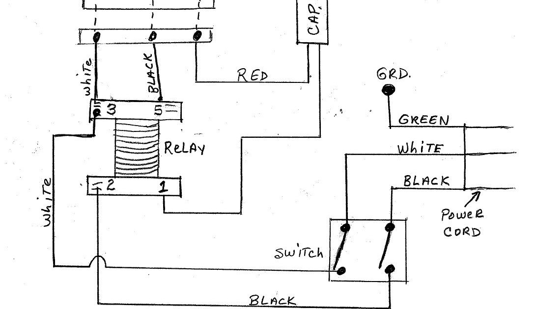 Table Saw Motor Wiring Diagram