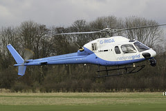 G-RIDA - 2007 build Twin Squirrel operating for the National Grid