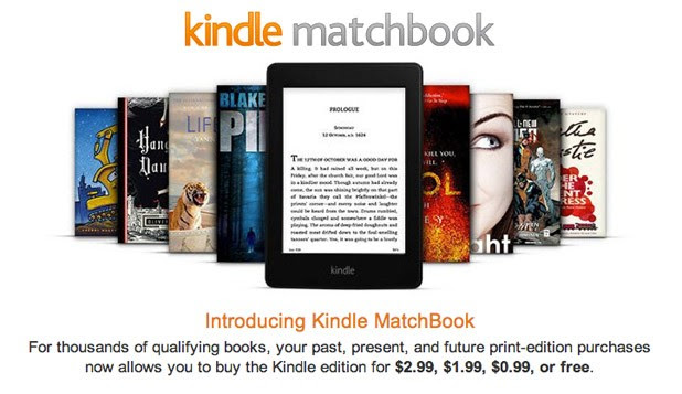 Amazon's Matchbook service now live, works with over 70,000 books for $3 or lewss