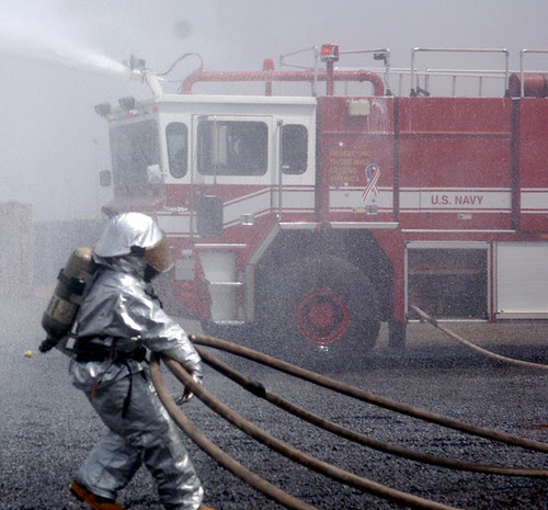 Firefighter training in Djibouti, August 2011 by US Army Africa