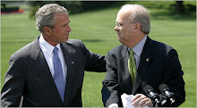 George W. Bush with Karl Rove