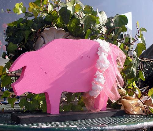 Mystery Pink Pig Returns