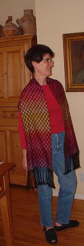 Nancy's scarf